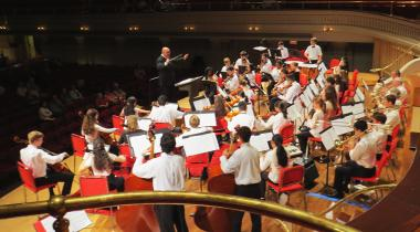 JOMP Youth Orchestra at Mechanics Hall in Worcester, MA